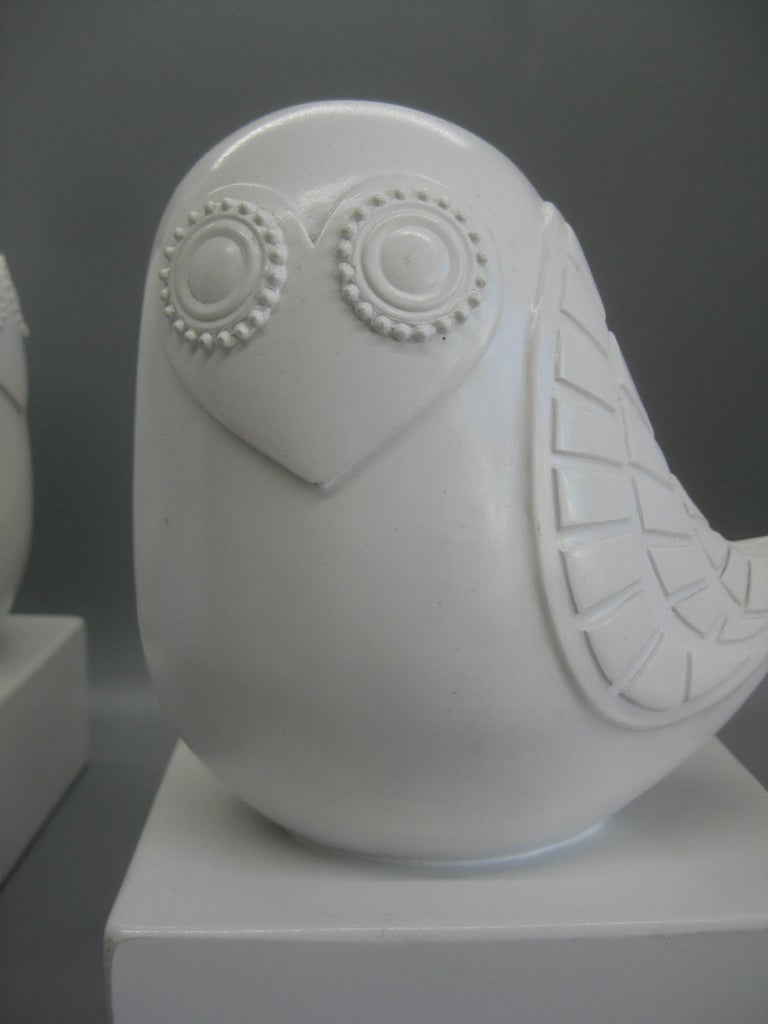 Jonathan Adler Happy Chic Lola Owl Bookends Sculpture For Sale 5