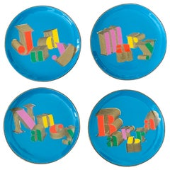 Jonathan Adler 'Icons' Porcelain Coasters, Set of 4