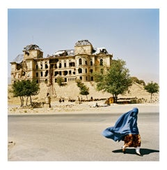 At the Darulaman Palace, Kabul, Afghanistan, August 2003