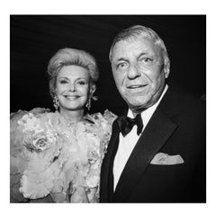Barbara and Frank Sinatra at The Red Cross Ball, Monte Carlo, August 1992