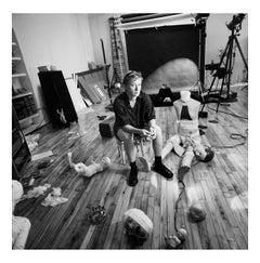 Cindy Sherman in her New York Studio, 14 September 1993