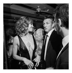 Hilary Swank and Sean Penn at the Vanity Fair Oscar Party, 7 March 2010
