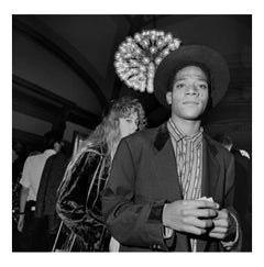 Jean-Michel Basquiat at The Brooklyn Academy of Music, 1 October 1985