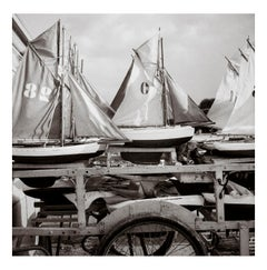 Sailboats of Brassaï's youth, Luxembourg Gardens, 1982