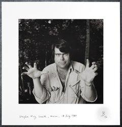 Stephen King, Lovell, Maine, 18 July 1980