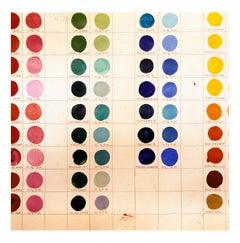 Willem de Kooning's Palette, Easthampton, New York, September 1999