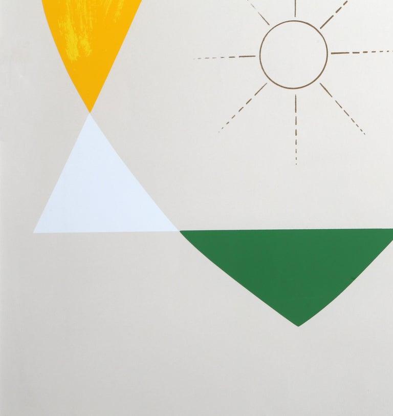The Balance of Love and Work Produces Energy - Print by Jonathan Borofsky