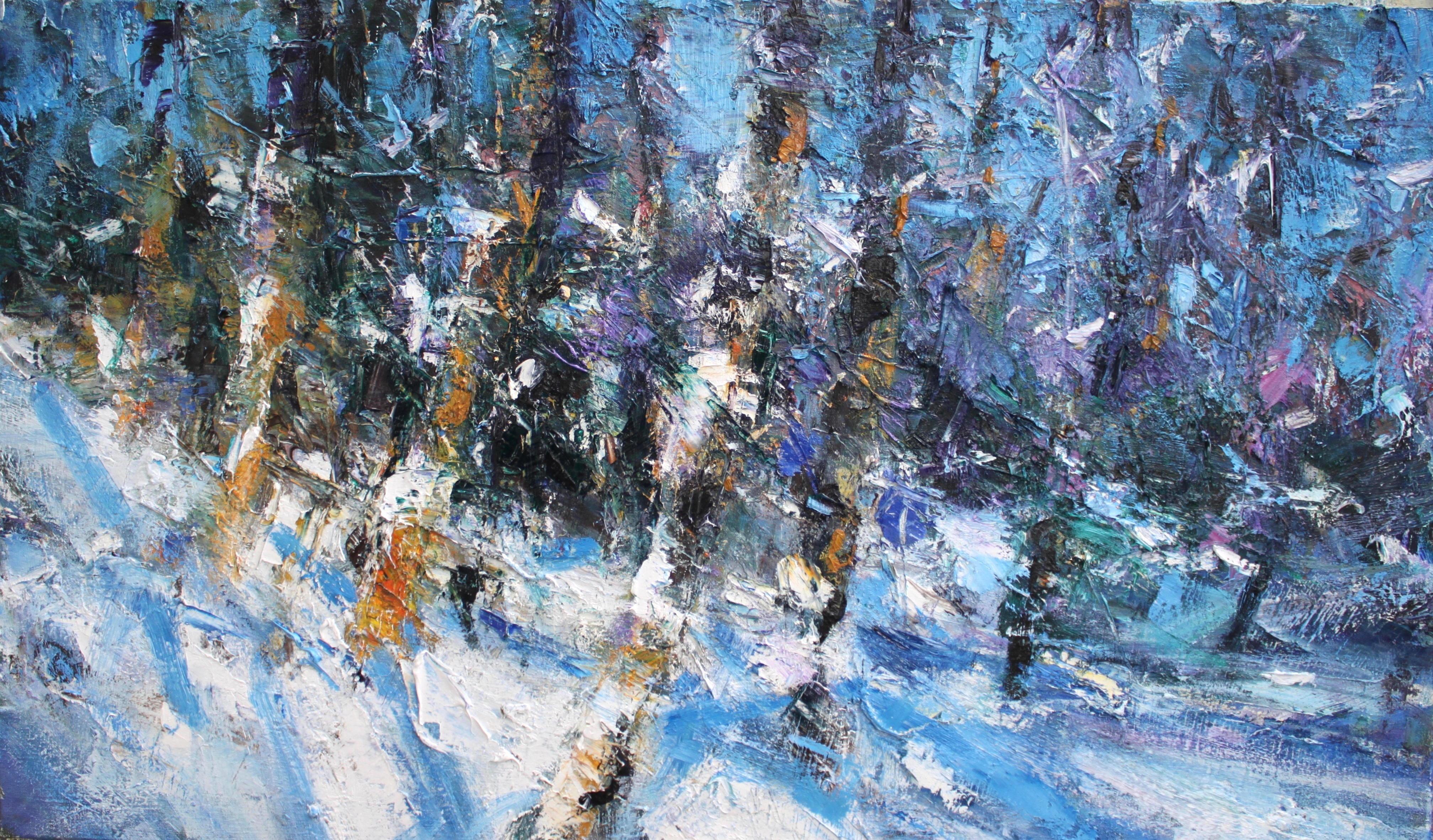 Winter Illumination - Scottish Landscape Painting