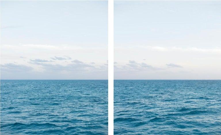 Jonathan Smith Landscape Photograph - Atlantic Ocean, Dusk