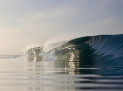 Newport Blues, Oceanscape Fine Art Photography, Framed in Plexiglass, Signed