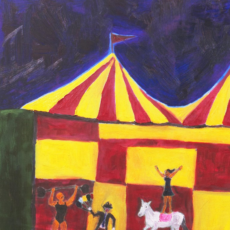 'The Big-Top at Night', California Modernist, Santa Cruz, University of Maine 1