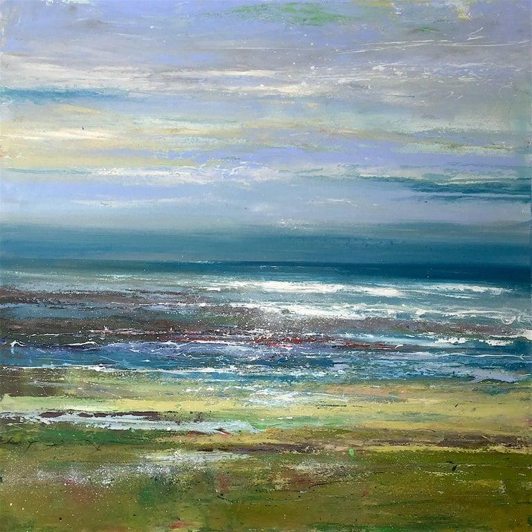 High Tide original landscape painting
