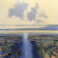 Jonathan Trim, Early Morning in the Estuary, Original Landscape Painting