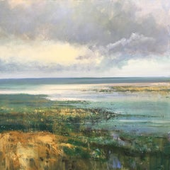 Jonathan Trim, Incoming Tide, Contemporary Painting, Affordable Art, Art Online
