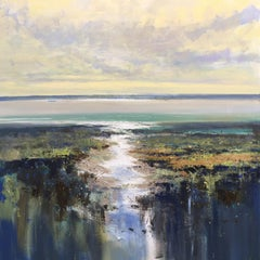 Jonathan Trim, Late Afternoon in the Estuary, Original Landscape Painting