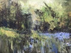 Jonathan Trim, Woodland Clearing, Original Landscape Painting, Landscape Art