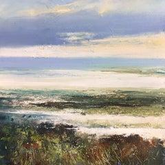 Low Tide - original seascape painting Contemporary 21st C Modern Art