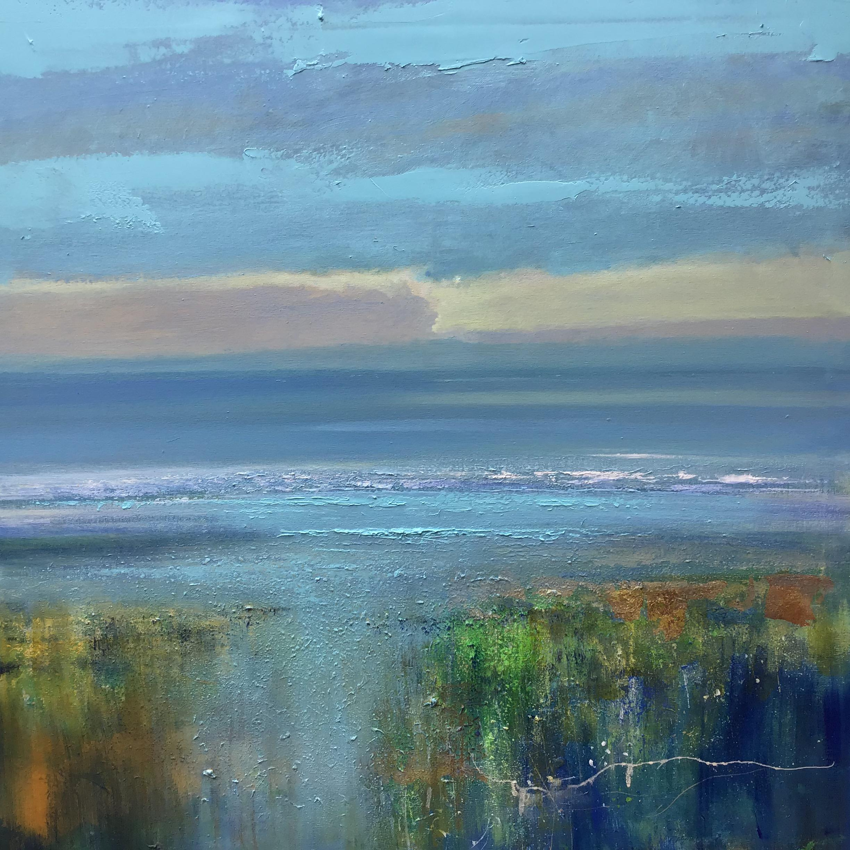 Morning - original seascape painting Contemporary 21st Century modern art