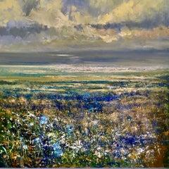 Spring Tide Turns original landscape painting Contemporary 21st Century Art