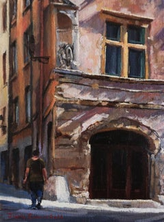 The Architecture of Aix, Oil Painting