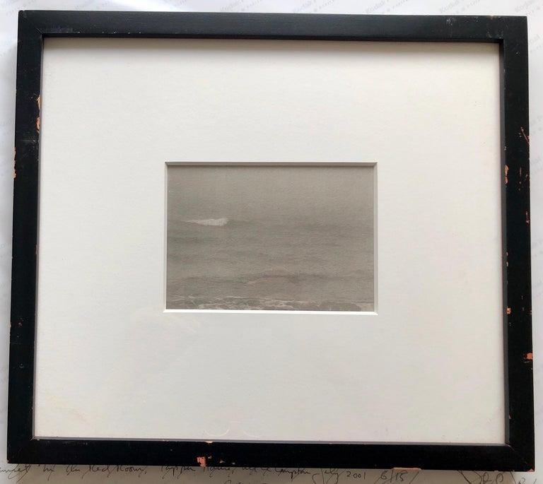 Montauk Bluffs, Ocean Photo Vintage Beach Photograph Platinum Palladium Print  For Sale 2