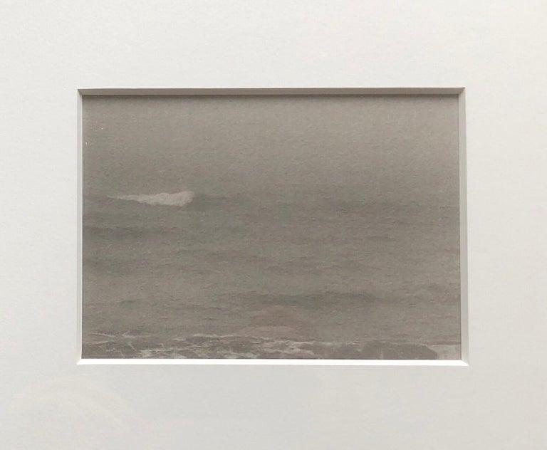 Montauk Bluffs, Ocean Photo Vintage Beach Photograph Platinum Palladium Print  - Gray Black and White Photograph by Joni Sternbach