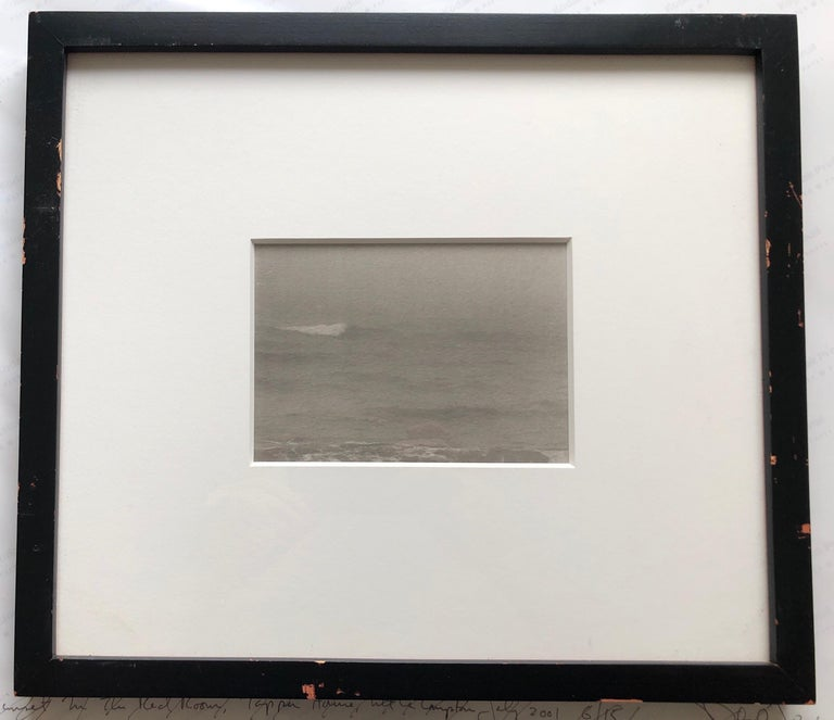 Montauk Bluffs, Ocean Photo Vintage Beach Photograph Platinum Palladium Print  For Sale 3