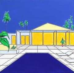 """Palm House"" - Original Painting by Jonjo Elliot"
