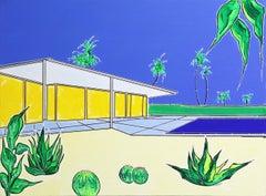 """Six Palms"" - Original Painting by Jonjo Elliot"