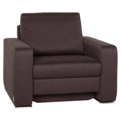 Joop! Fabric Armchair Brown Dark Brown
