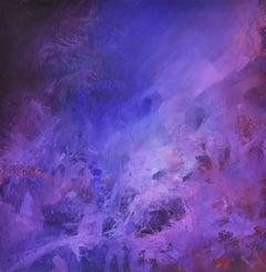 Surrealist Arcadian Galaxy, Joop Smits, Dutch artist, signed