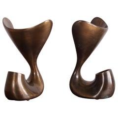 Jordan Mozer Bronze Pitcher Plant Table Lamp