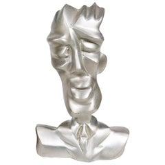 Jordan Mozer, Chet, Iridium Jazzclub, Hand Carved, Cast Aluminum, USA, 1992