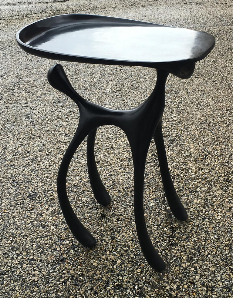 Creature Side Table/Occasional Table, Patinated Cast Aluminum, Jordan Mozer 2008 For Sale 5