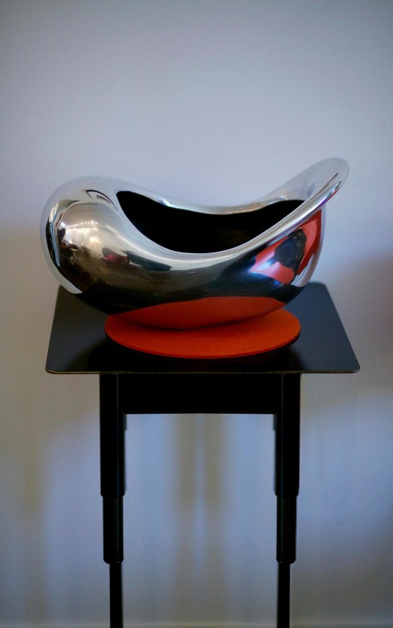 East Bowl, Bowl or Vase, Cast+Patinated Recycled Bronze, Jordan Mozer, USA 2004 For Sale 7