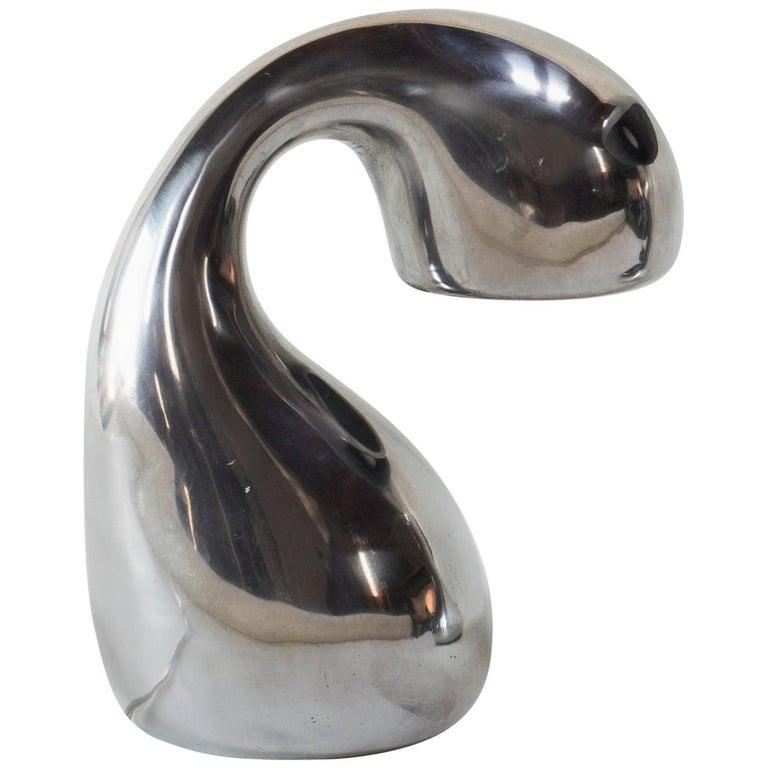 Jordan Mozer, Eliza's Bright Little Question, Table Lamp, Aluminum, USA, 2002 For Sale