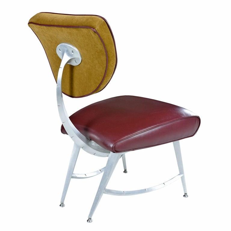 Post-Modern Disney Quest Aluminum Armillary Chair by Jordan Mozer For Sale