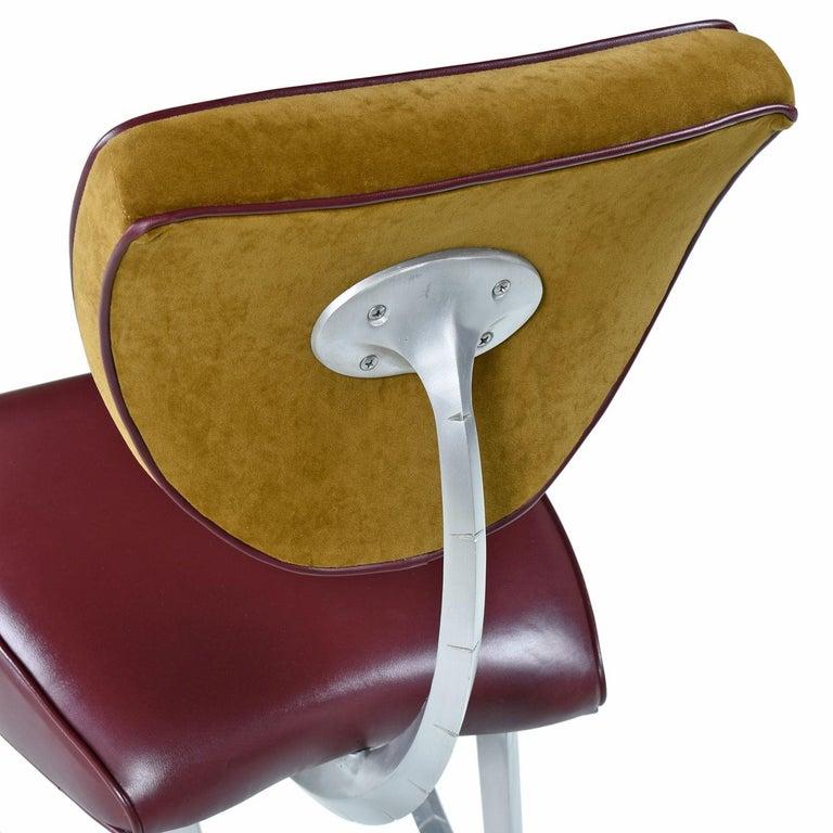 Late 20th Century Disney Quest Aluminum Armillary Chair by Jordan Mozer For Sale