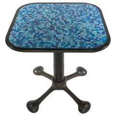 ICE Side Tables, Glass Mosaic + Cast Aluminum, Jordan Mozer, USA, 2001-2016
