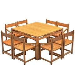Jordi Casablanca Muntañola Dining Table with Eight 'S5' Armchairs