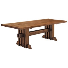 Jordi Vilanova I Bosch Rare Dining Table in Walnut