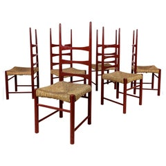 Jordi Villanova, Set of 6 Chairs, circa 1970, Spain