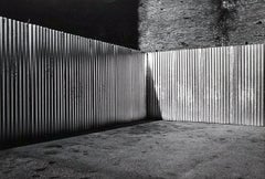 Lines - Off-Print # 1 - Florence - 1976 - Minimalist Black & White Photography