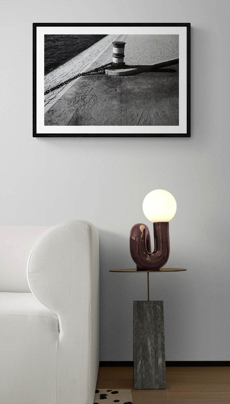 Rivages - Off-Print # 2 -Lisbon - 1982 - Minimalist Black & White Photography For Sale 2