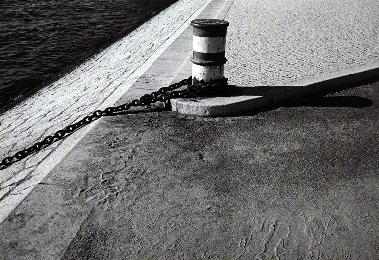 Jörg Krichbaum Black and White Photograph - Rivages - Off-Print # 2 -Lisbon - 1982 - Minimalist Black & White Photography