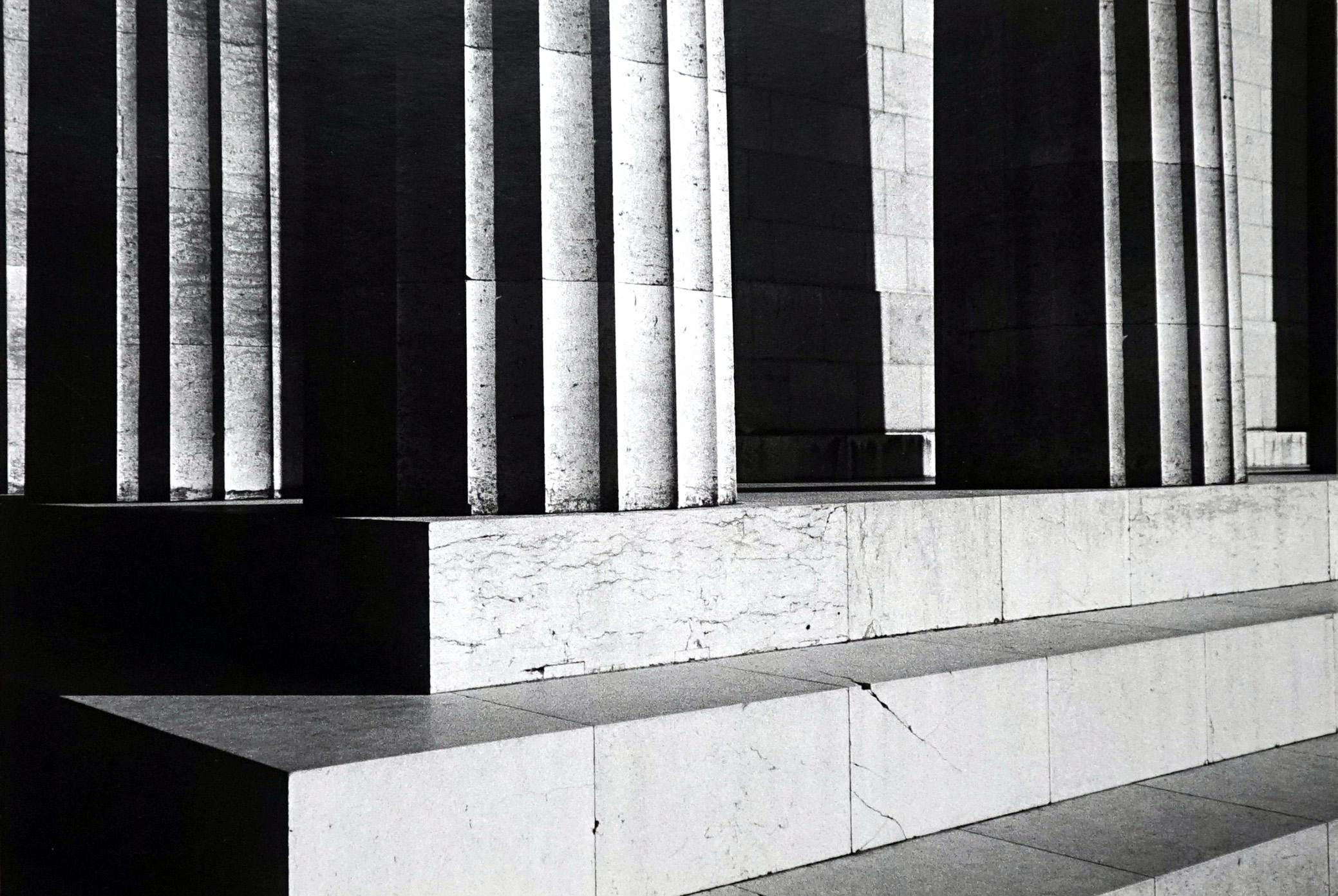 Step by Step - Off-Print # 1 - 1973 - Minimalist Black & White Photography