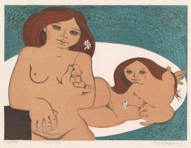 Jorge Dumas Figurative Print - Jugentud (Youth)