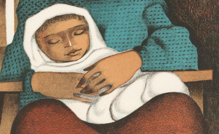 Sontando (Dreaming) - Contemporary Print by Jorge Dumas