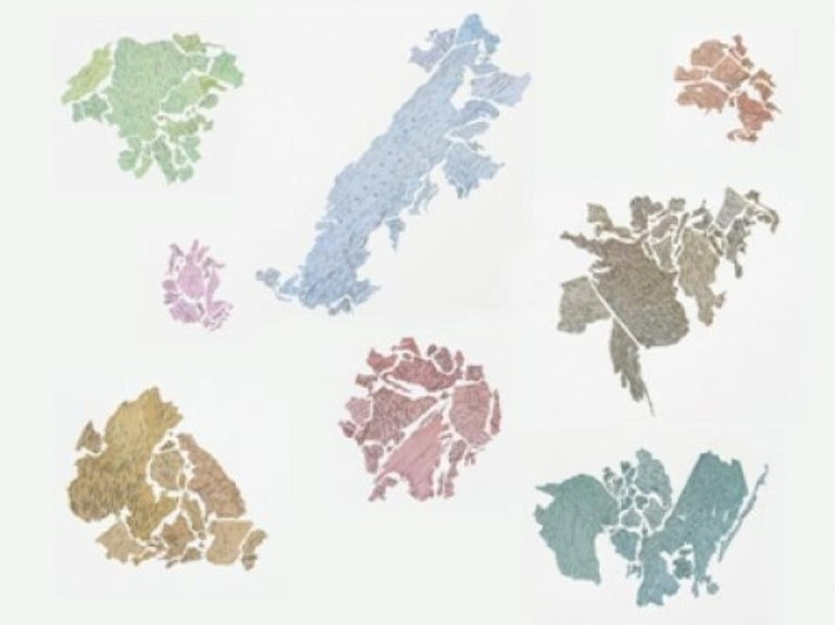 Jorge Macchi Abstract Print - New World