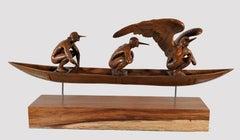 "Jorge Marín, ""Animus Tripartita"", Sculpture, Contemporary, Bronze"